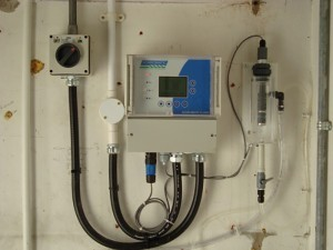 Version 2 Chlorine Analyser in Distribution Monitoring Application.